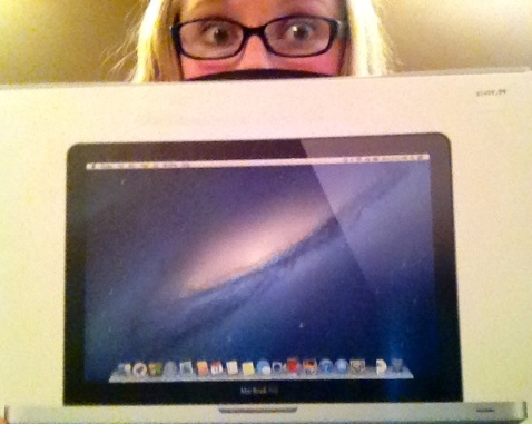 I got a MacBook!